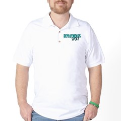 Deployments Suck Golf Shirt