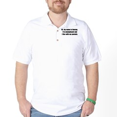 My name is George Golf Shirt