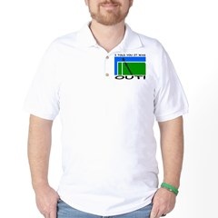 """It was out!"" Golf Shirt"