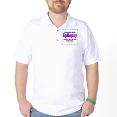 Epilepsy Pride Golf Shirt