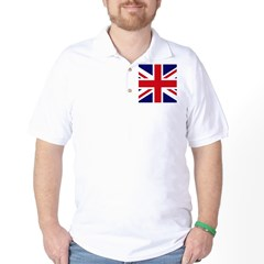 British Flag Union Jack Golf Shirt