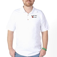 World's Best Vet Tech Golf Shirt