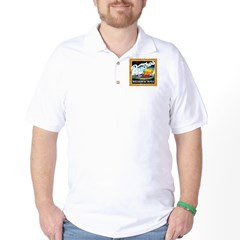 Peaches Records & Tapes Distr Golf Shirt