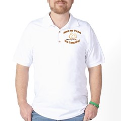 MEET ME 'ROUND THE CAMPFIRE! Golf Shirt