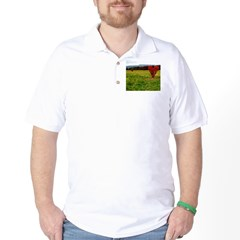 heartsonfire.jpg Golf Shirt