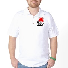 Oil of blood Golf Shirt