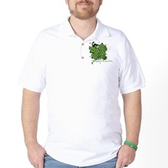 grunge_hops_dark Golf Shirt
