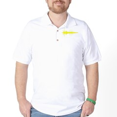 AudioWave_Yellow_1shot Golf Shirt