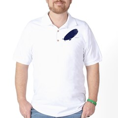 Up Up and Away (Blue) Golf Shirt