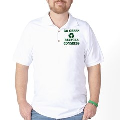 Go Green - Recycle Congress Golf Shirt