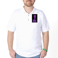 Edgar Allen Poe Golf Shirt
