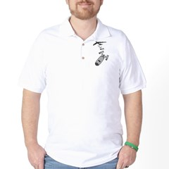 Dropping F Bombs Golf Shirt