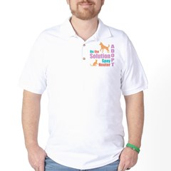 New Be The Solution Golf Shirt