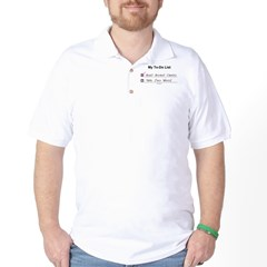 10 x 5 - My To Do List (BC) Golf Shirt