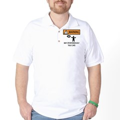 Car Talk Warning Golf Shirt