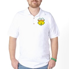 Beer Leaf Clover St. Patrick's Day Golf Shirt