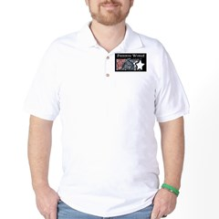 Freedom Works Flag Golf Shirt