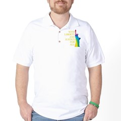 RAINBOW LIBERTY Golf Shirt