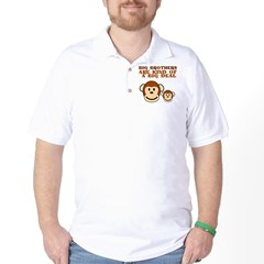BIG BROTHER monkey Golf Shirt