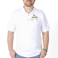 Candy Rainbow Golf Shirt