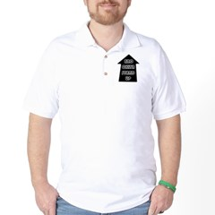 BKLYN STAND UP W/ BLACK SLEEVES Golf Shirt