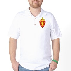 Norway Coat Of Arms Golf Shirt