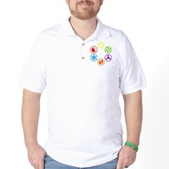 Legend of Zelda Spirit Medallions Golf Shirt