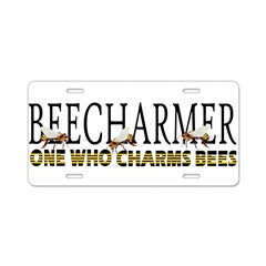 BEECHARMER Aluminum License Plate