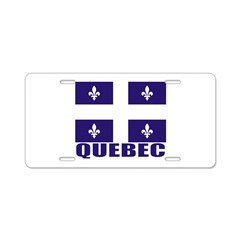 Quebec Aluminum License Plate