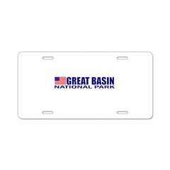 Great Basin National Park Aluminum License Plate