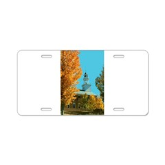 Vermont Country Church Aluminum License Plate