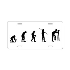 Photog Evolution Aluminum License Plate