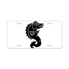 Pigfish Aluminum License Plate