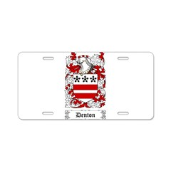 Denton Aluminum License Plate