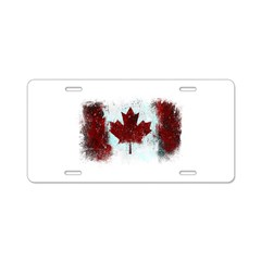 Canadian Graffiti Aluminum License Plate