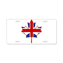 UK Maple Aluminum License Plate