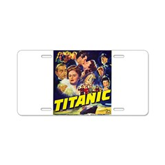 $9.99 Titanic Movie Aluminum License Plate