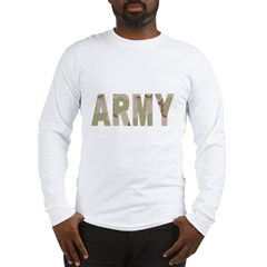 Army-Black-Shirt-2 Long Sleeve T-Shirt