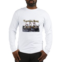 Tampa Palms Black Ash Grey Long Sleeve T-Shirt