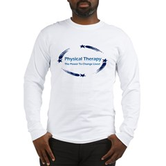 PT The Power to Change Lives Ash Grey Long Sleeve T-Shirt