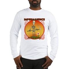 Impermanence4black Long Sleeve T-Shirt