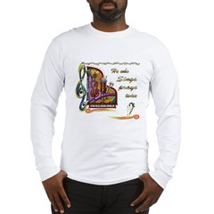 HeWhoSings_8x8transp_apparel Long Sleeve T-Shirt
