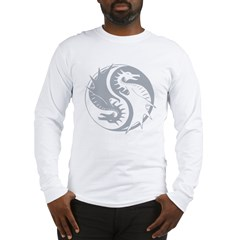 yinyangDragon1Black Long Sleeve T-Shirt