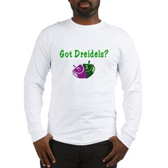 Got Dreidels Hanukkah Long Sleeve T-Shirt