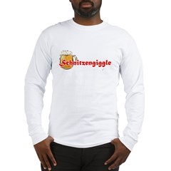 schnitzengiggle-black Long Sleeve T-Shirt
