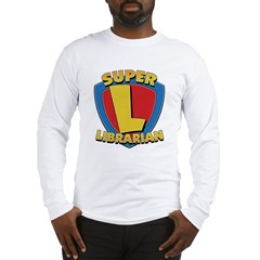 SuperLibrarianDrkT Long Sleeve T-Shirt