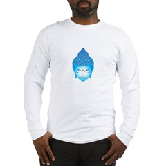 blue buddha Long Sleeve T-Shirt