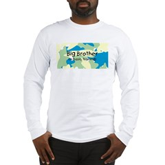 Big Bro in Training Camo on Long Sleeve T-Shirt