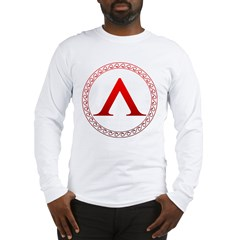 spartan_shield Long Sleeve T-Shirt