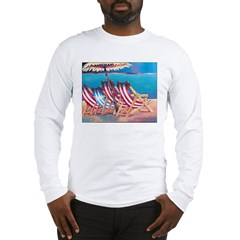 Beach Chairs Long Sleeve T-Shirt
